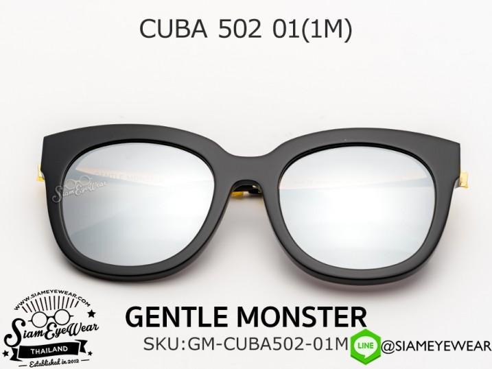 แว่นกันแดด GENTLE MONSTER CUBA 502 01(1M)