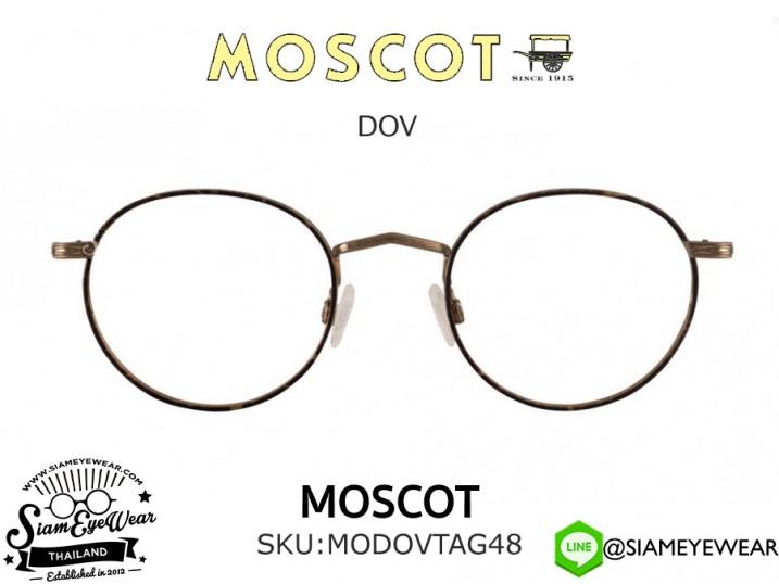 แว่น MOSCOT DOV Tortoise Antigue Gold