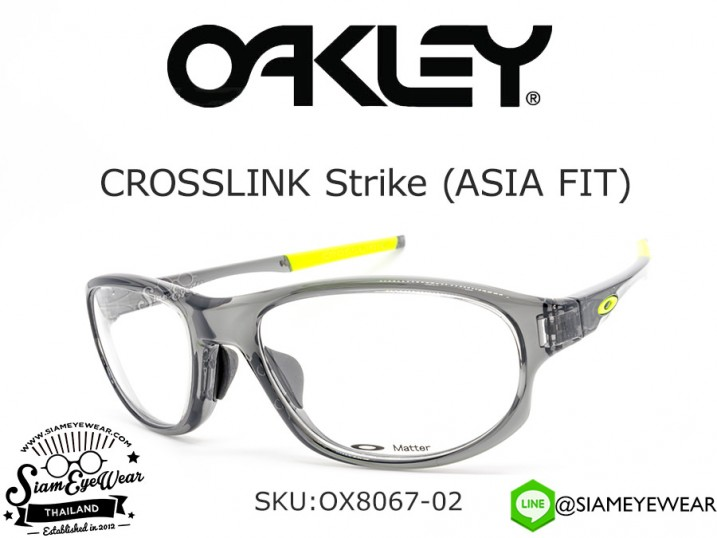 แว่นสายตา Oakley Crosslink Strike (Asia Fit) OX8067-02