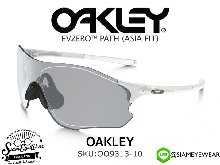 แว่นตากันแดด Oakley EVZero Path (Asia Fit) OO9313-10 Pearl White/Slate Iridium