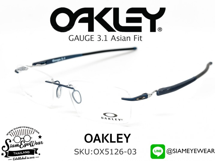 แว่นสายตา Oakley Optic Gauge 3.1 OX5126-03 Matte Midnight