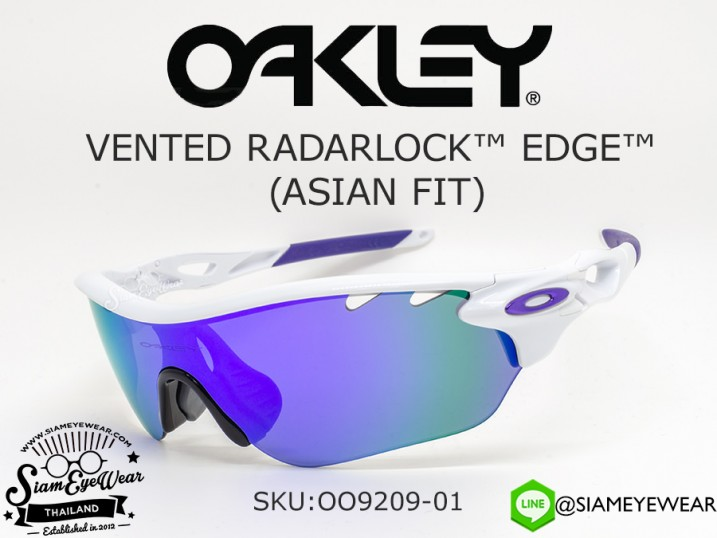 แว่นตากันแดด Oakley Radarlock Edge Vented (ASIAN FIT) OO9209-01