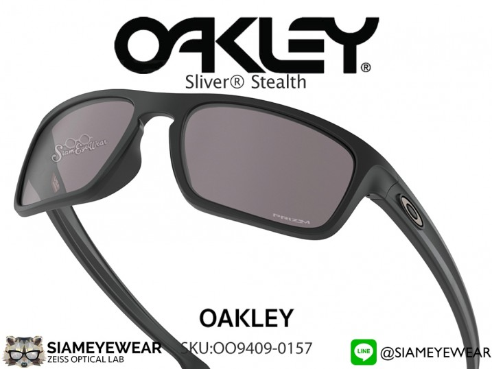 แว่นกันแดด Oakley SLIVER STEALTH (ASIA FIT) OO9409-0157
