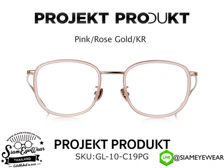 แว่นสายตา Projekt Produkt Optic GL-10 C19PG Pink/Rose Gold