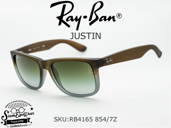 แว่นตา Rayban Justin RB4165 854/7Z Brown