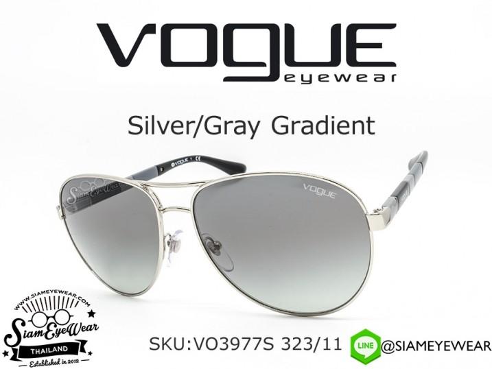 แว่นตา Vogue VO3977S 323/11 Silver/Gray Gradient