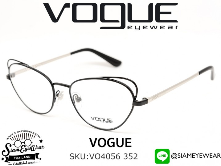 แว่น Vogue Optic VO4056 352 Black