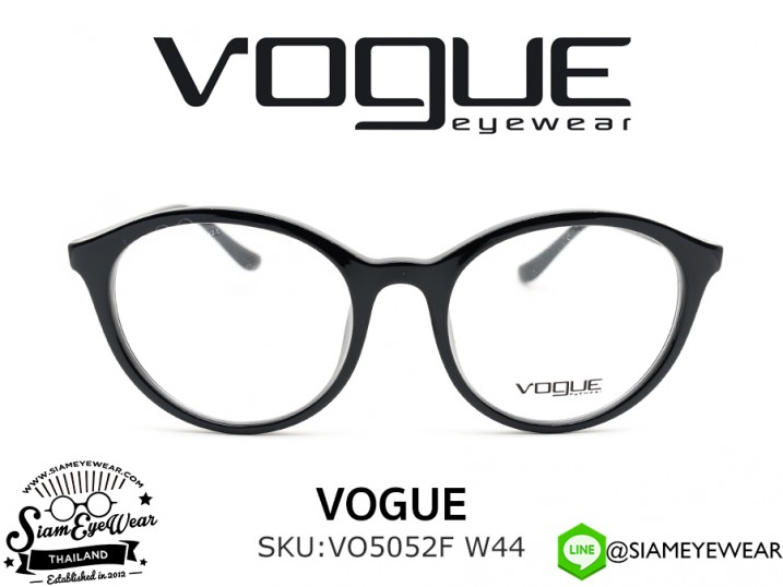 แว่นตา Vogue Optic VO5052F W44 Black