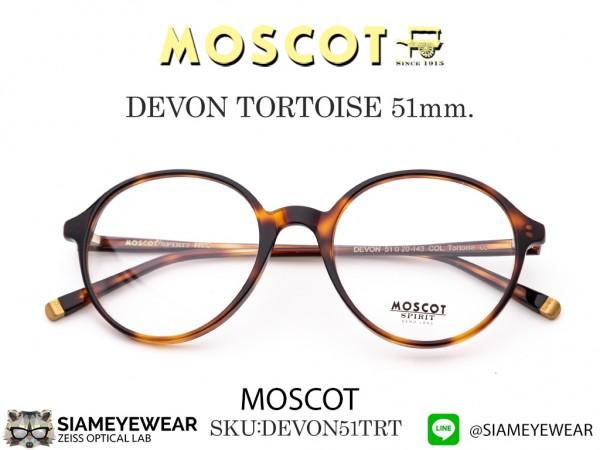 แว่น MOSCOT DEVON Tortoise