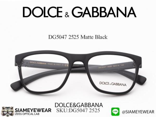 แว่น DOLCE & GABBANA DG5047 Matte Black