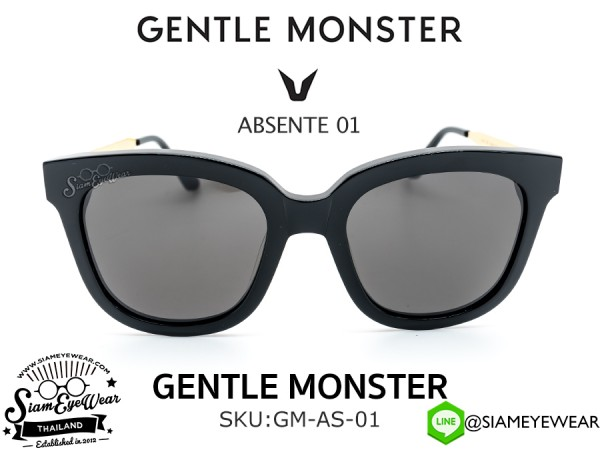 แว่น GENTLE MONSTER ABSENTE 01