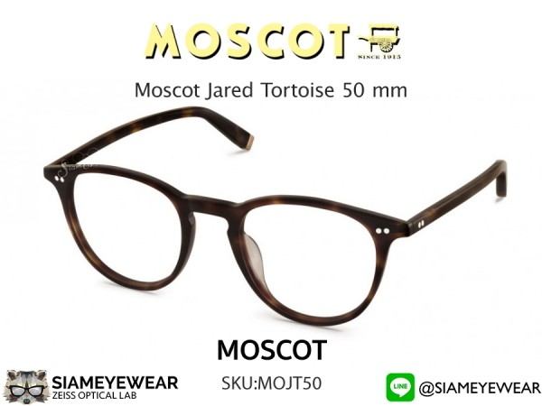 แว่น Moscot Jared Tortoise 50 mm