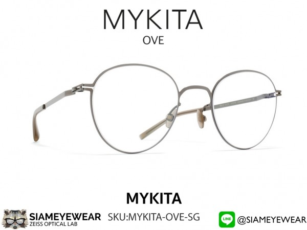 แว่น Mykita OVE Optic RX Shiny Graphite