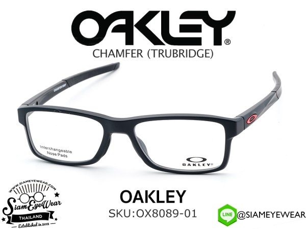 แว่นสายตา Oakley Optic CHAMFER MNP OX8089-01 Satin Black