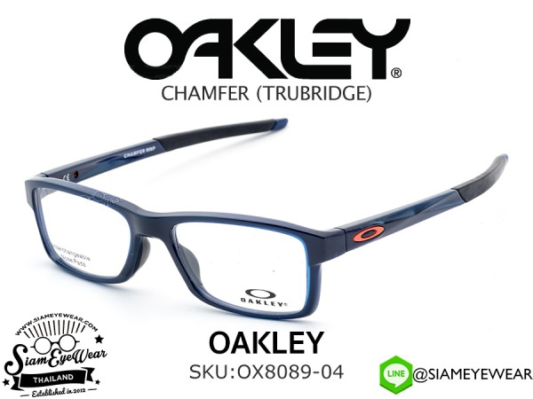 แว่นตา Oakley Optic CHAMFER MNP OX8089-04 Polished Blue Ice