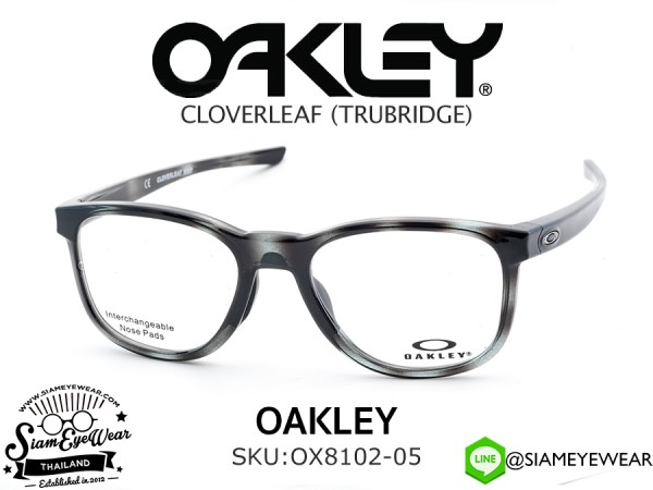แว่นตา Oakley Optic CLOVERLEAF MNP OX8102-05 Polished Grey Tortoise