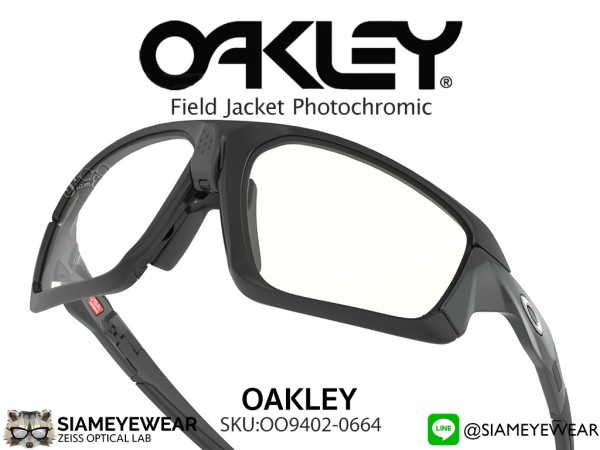 แว่นกันแดด Oakley Field Jacket OO9402-06 Photochromic