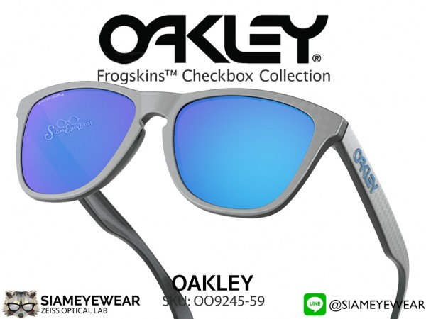 แว่น Oakley FROGSKINS ASIAN FIT OO9245-59