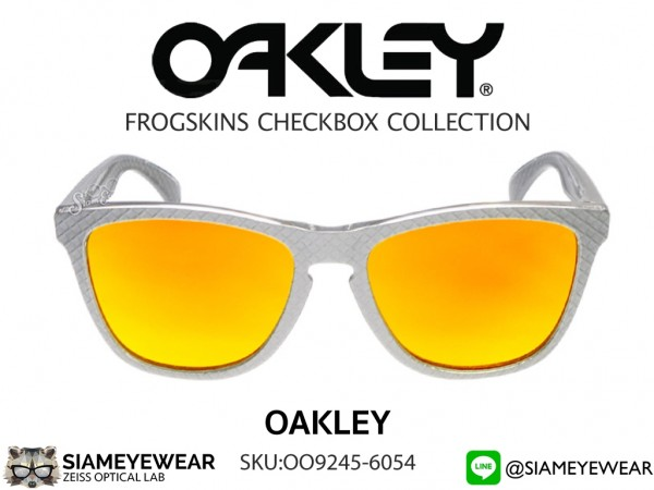 Oakley FROGSKINS CHECKBOX COLLECTION (ASIA FIT) OO9245-6054