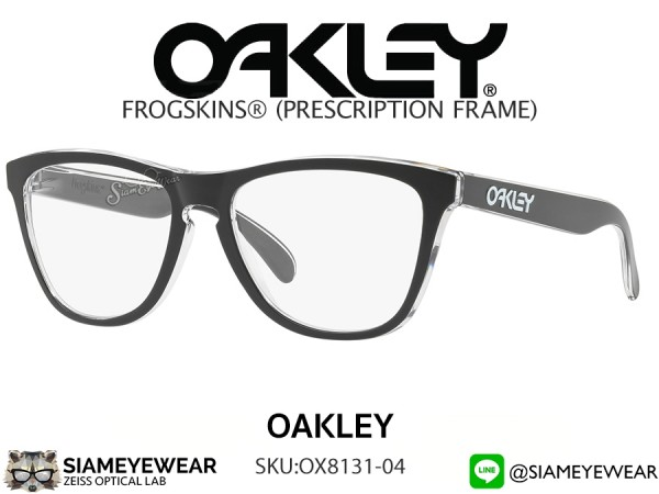 แว่น Oakley Optic Frogskins OX8131-04 Eclipse Clear