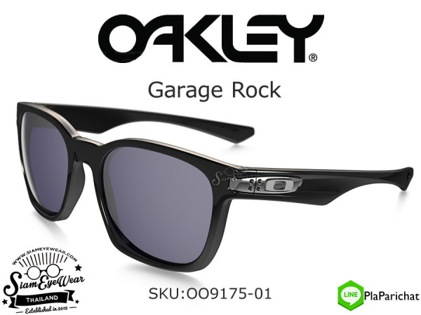 แว่น Oakley Garage Rock Polished Black/Grey OO9175-01