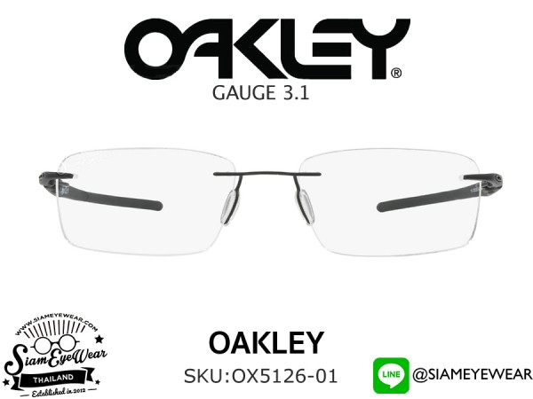 แว่น Oakley Optic Gauge 3.1 OX5126-01 Matte Black