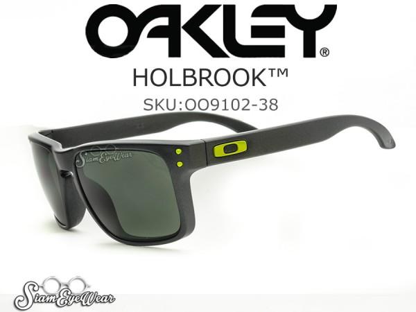 แว่น Oakley HOLBROOK Steel/Dark Grey 009102-38