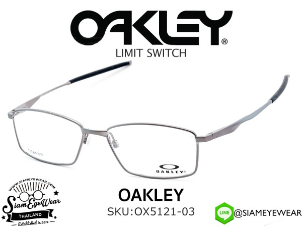 แว่นตา Oakley Optic Limit Switch OX5121-03 Brushed Chrome