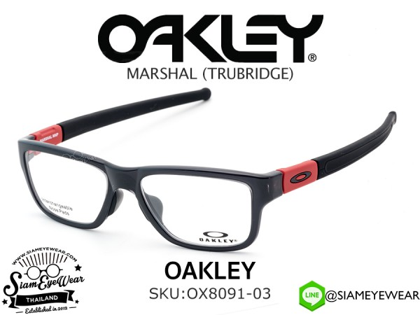 แว่นตา Oakley Optic MARSHAL MNP OX8091-03 Polished Black Ink