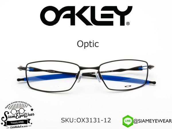 แว่นสายตา Oakley Optic OX3131-12 Matte Black/Blue