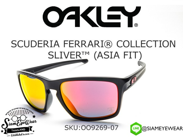 แว่น Oakley Scuderia Ferrari Collection Sliver (Asia Fit) OO9269-07