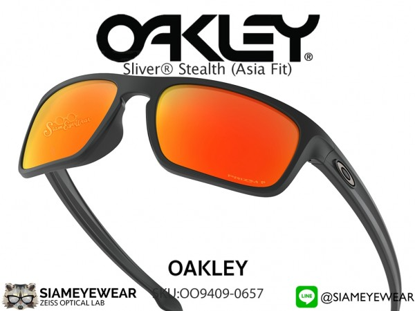 แว่น Oakley SLIVER STEALTH (ASIA FIT) OO9409-0657