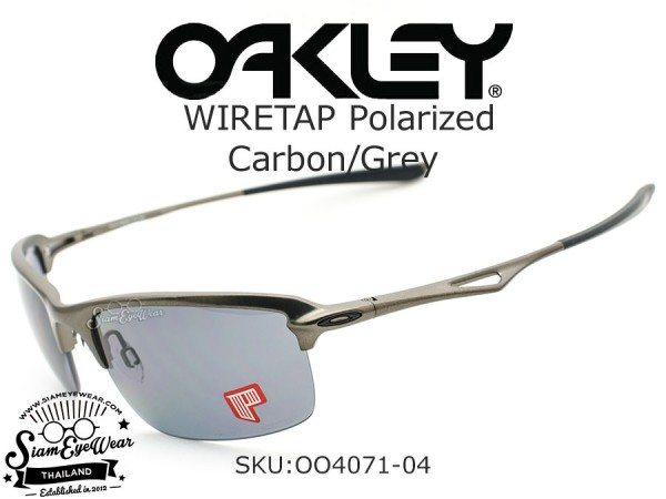 แว่นตา Oakley Wiretap polarized OO4071-04