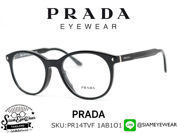 กรอบแว่น Prada Optic PR14TVF 1AB1O1 Black