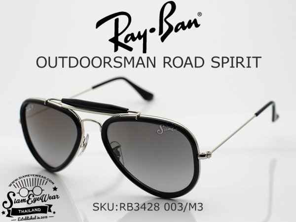แว่น Rayban Limited Edition Outdoorsman Road Spirit RB3428 003/M3