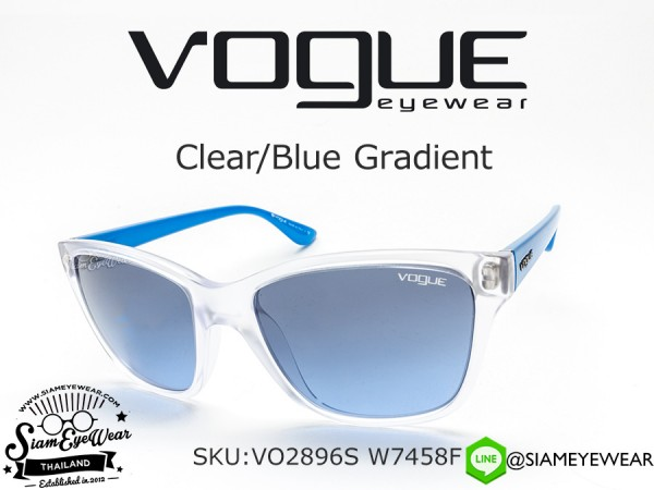 แว่นตา VOGUE VO2896S W7458F Clear/Blue Gradient
