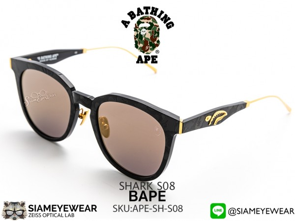 แว่น A BATHING APE SHARK S08