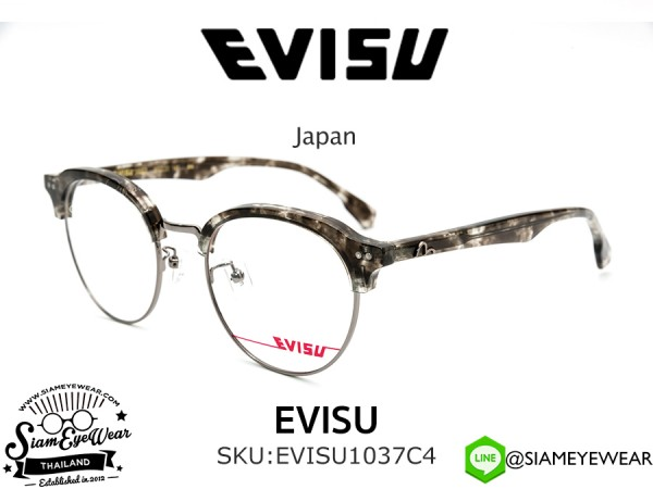 แว่นตา EVISU 1037 C4 Optic Grey Tortoise