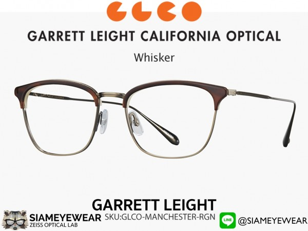 แว่น Garrett Leight Talbert Whisker Tortoise Antigue