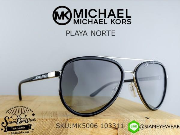 แว่นตา Michael Kors PLAYA NORTE MK5006 103311 Black/Grey Gradient