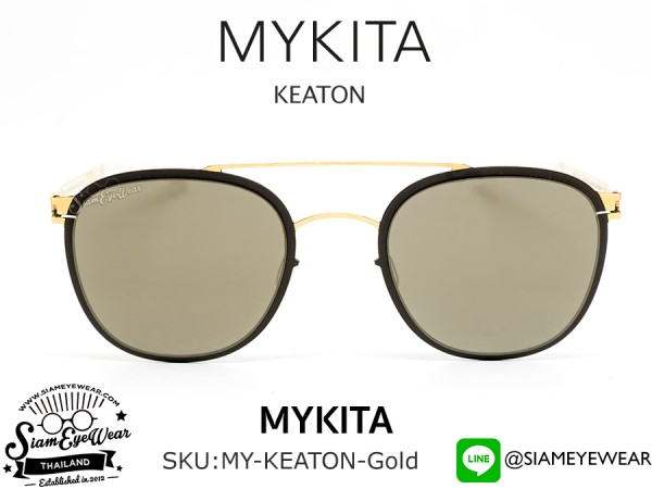 แว่นตากันแดด MYKITA KEATON Gold Terra/Brilliant Grey Solid