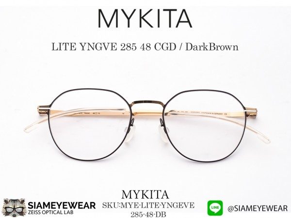 แว่น Mykita LITE YNGVE DarkBrown