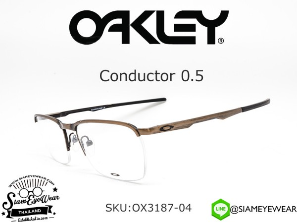 กรอบแว่น Oakley Conductor 0.5 OX3187-04 Bronze Copper