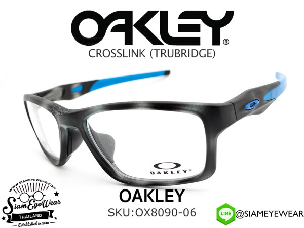 แว่นตา Oakley Optic CROSSLINK MNP OX8090-06 Matte Grey Tortoise