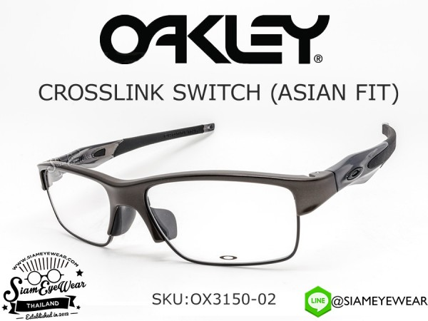 แว่น Oakley Optic Crosslink Switch (Asia fit) OX3150-02 Pewter