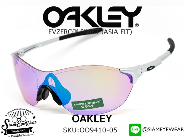แว่นตรกอล์ฟ Oakley EVZero Swift (Asia fit) OO9410-05 Silver/Prizm Golf
