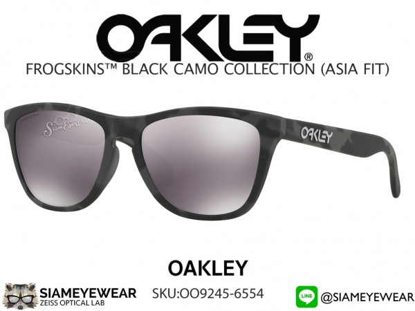 แว่น Oakley FROGSKINS BLACK CAMO COLLECTION (ASIA FIT) OO9245-6554