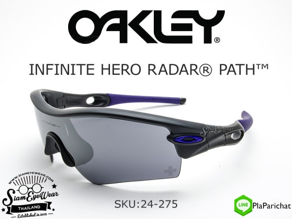 แว่นตา Oakley Infinite Hero Radar Path 24-275 Carbon/Black Iridium