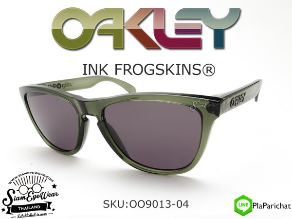 แว่นกันแดด Oakley Ink Frogskins OO9013-04 Olive Ink/Warm Gray