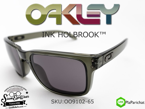 แว่น Oakley INK HOLBROOK Olive/Warm Gray OO9102-65